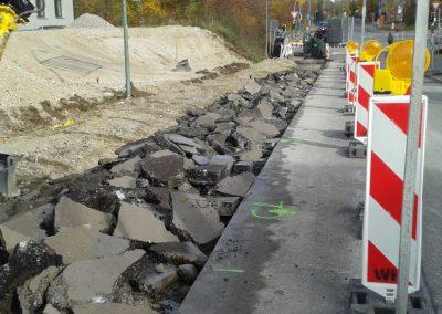 Heimburgstrasse Zufahrt PI 45, München