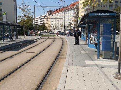 Tram Steinhausen, München