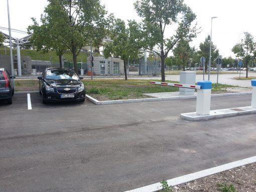 Flughafen München, Parkplatz Bundespolizei
